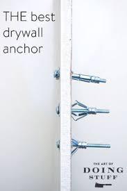 Install Curtain Rod Drywall How To Install A Drywall Anchor Drywall Vila And Bobs