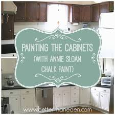 the kitchen project painting the cabinets and my annie sloan