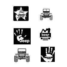 jeep beer decal jeep svg jeep svg cut files jeep cut file jeep dxf jeep