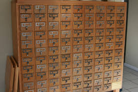 card catalog for sale in florida a 107 drawer from the