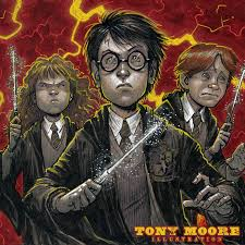 sketch of the day harry potter hermione u0026 ron u2014 colonel tony moore