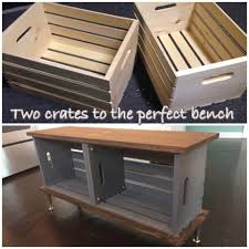 Build A Toy Chest Bench by Diy Wood Crate Bench Margaret Patterson Blog