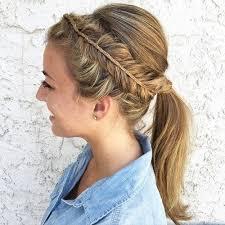 headband ponytail 40 and comfortable braided headband hairstyles