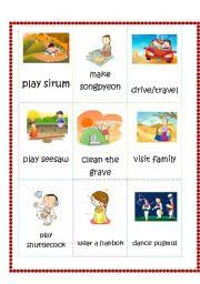 teaching worksheets thanksgiving flashcards