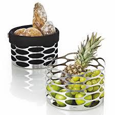 embrace modern fruit basket designer fruit bowl steel