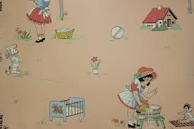 vintage childrens wallpaper wallpaperhdc com