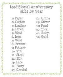 traditional wedding gifts best 25 anniversary gift by year ideas on traditional