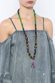 seed necklace images Amazon pambil acai tassel seed necklace jpg