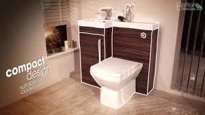 Bathroom Combination Furniture by Apex Walnut Combination Unit Bathroom Furniture Youtube