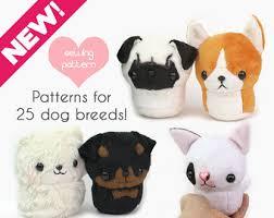 printable sewing patterns to make kawaii pet rodent plush stuffed