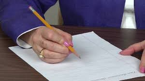 what is writing paper pencil and paper position for right handers youtube