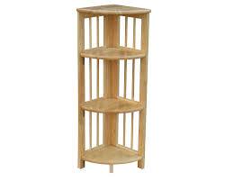 Antique White Bookcases by 3 Tier Shelf Wood Teak Threetier Shelf And Corner Caddy Grandin