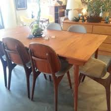 Mid Century Modern Home Furniture Stores  Quayside - Teak dining room chairs canada