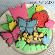 ladybug cookies animal and insect sugar cookies custom decorated for any summer or