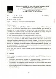 invitation letter to participate in strategic shareholder
