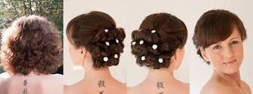 Einfache Hochsteckfrisurenen Kurze Haare by Brautfrisuren Und Hochsteckfrisuren Für Kurze Haare