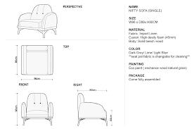 sofa size 83 with sofa size jinanhongyu com