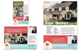 home real estate flyer u0026 ad template word u0026 publisher