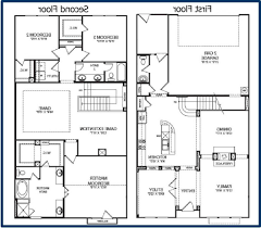 small 2 story floor plans az tile simple 2 story floor plan house planning intended for