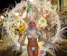 Brazilian Carnival Halloween Costumes Passista