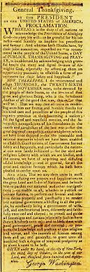 washington s original thanksgiving proclamation