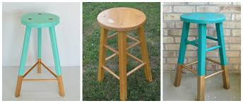 Does Goodwill Take Furniture by Thrift Store Challenge Babanees Inspired Painted Stool One