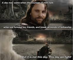 16 lord of the rings quotes that will you swell with