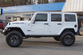white jeep wrangler unlimited lifted 2015 custom jeep wrangler rubicon unlimited white