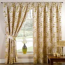 Moss Green Curtains Barclay Davina Floral Woven Pencil Pleat Lined Curtains Moss