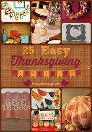 25 easy thanksgiving decorations for your house