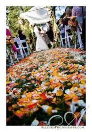 Fall Wedding Aisle Decorations - diy wildflower aisle wedding ideas once wed wildflowers