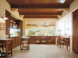 cuisine bois rustique design interieur cuisine bois classique rustique poutres palfond