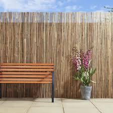 wilko screening bamboo slat 4mx2m garden pinterest gardens