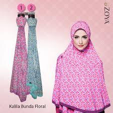 jilbab zoya syar i kalila bunda floral