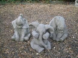 elephant garden statue 17 best images about garden on