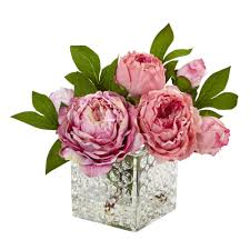 Peony Floral Arrangement peony floral arrangements in decorative vase floral peonies and