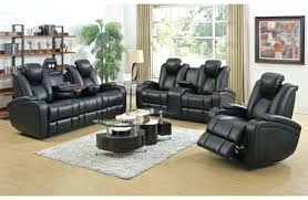 Seven Piece Reclining Sectional Sofa by Black Leather Sectional Recliner And Sleeper Black Leather 7 Piece