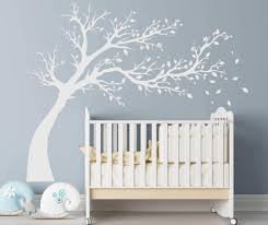 25 blowing tree wall decal leaning tree blowing with blossoms blowing tree wall decal sticker tree wall decal tree sticker