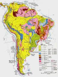 Bogota Colombia Map South America by South America Geological Map Full Size