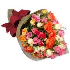 3 dozen roses 3 dozen multicolored roses bouquet us 68 50 roses to