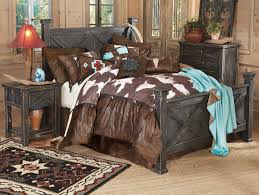Western Bed Frames Western Bedroom Decor And Furniture Lone Western Decor