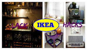 furniture hacks ikea furniture hacks lack edition youtube