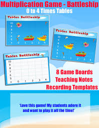 Multiplication Table Games by Resource Type Games Multiplication Games Tables Battleship