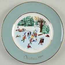 christmas plate avon christmas plate at replacements ltd