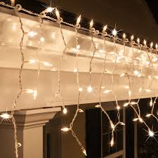 twinkle lights christmas icicle light 150 clear twinkle icicle lights white wire