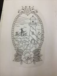 Lighthouse Tattoo Ideas 118 Best Tattoo Images On Pinterest Tattoo Designs Drawings And