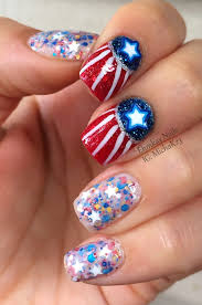 33 nail designs for july 4th 4th of july nail ideas more 4th of