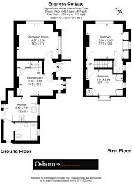Estate Agents Floor Plans by Property For Sale Highgate Lane Farnborough Gu14 2 Bedroom End