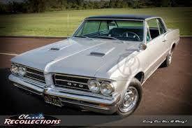 1964 pontiac gto u2013 classic recollections