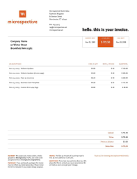 maintenance invoice template free and website invoice template